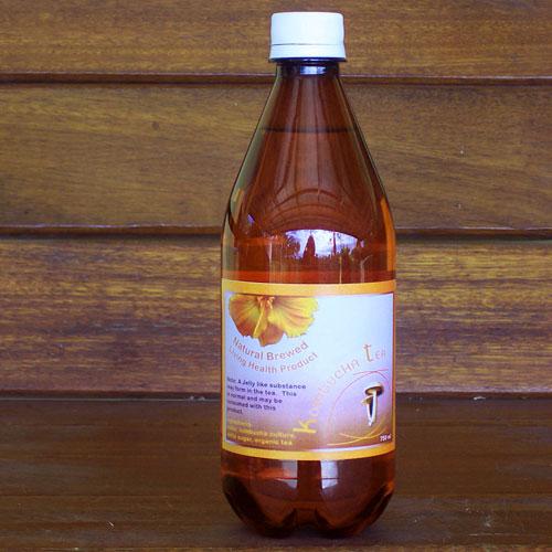 Bottled Kombucha Tea