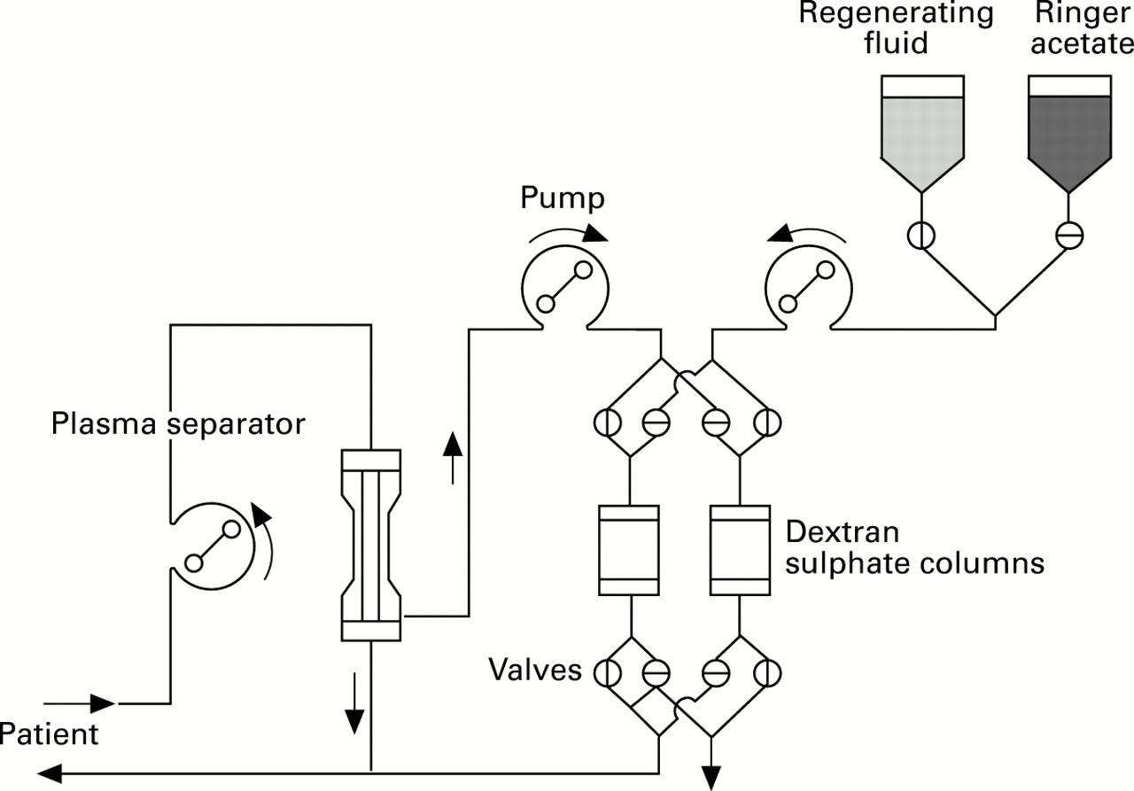 The Effect Of Plasma Low Density Lipoprotein Apheresis On