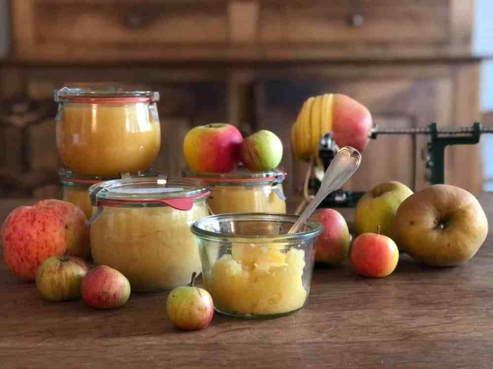 Apfelmus Selbermachen.