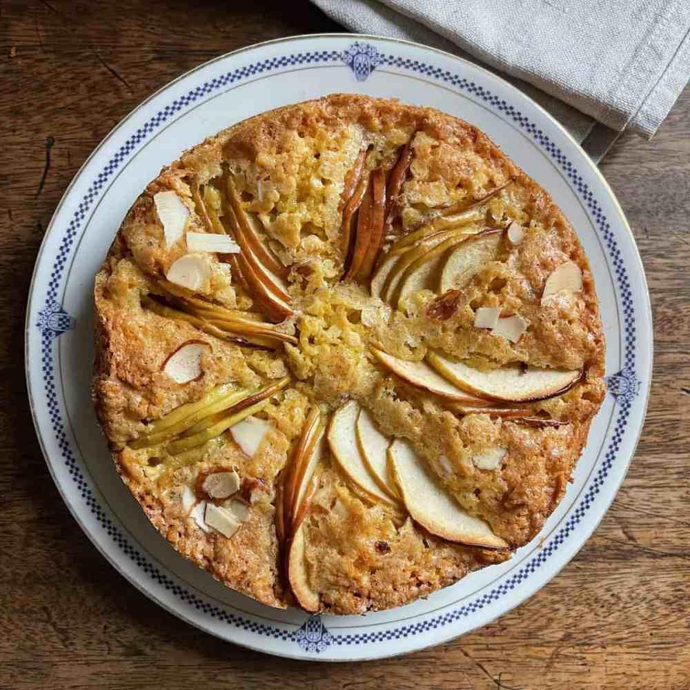 Apfel Sandkuchen.