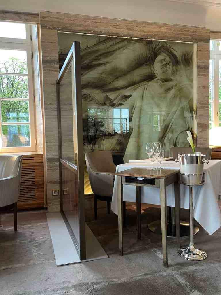 Gourmet Restaurant Vendôme -Luxuriös und bequem.