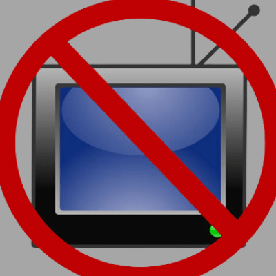 turn off the television/screen