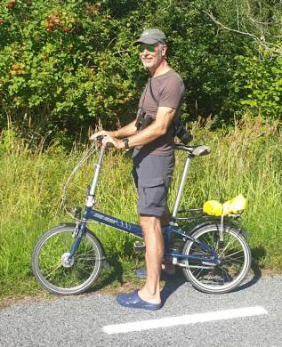 Normen auf Fahrradtour in Rahuste auf Saaremaa in Estland