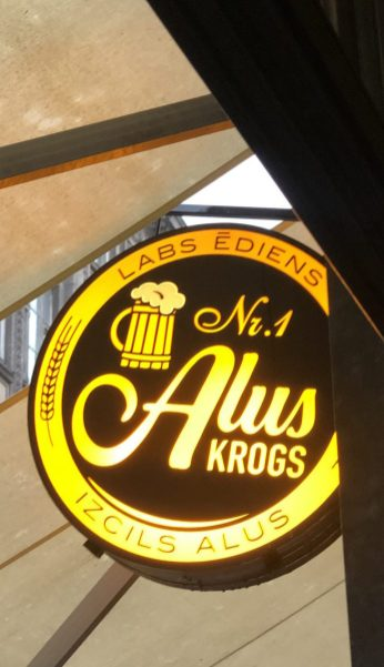 Kneipe Krogs Number 1 in Riga