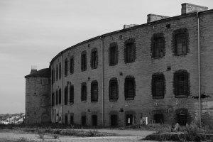 Gefängnis Meeresfort Patarei Frontansicht