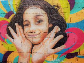 Streetart in Malaga Titel