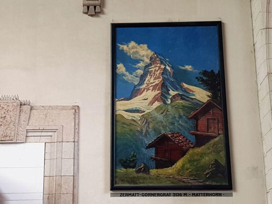 Matterhorn im Bahnhof Basel