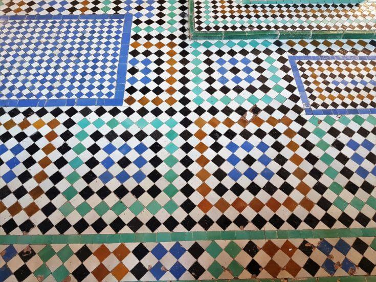 Mosaik Marrakesch