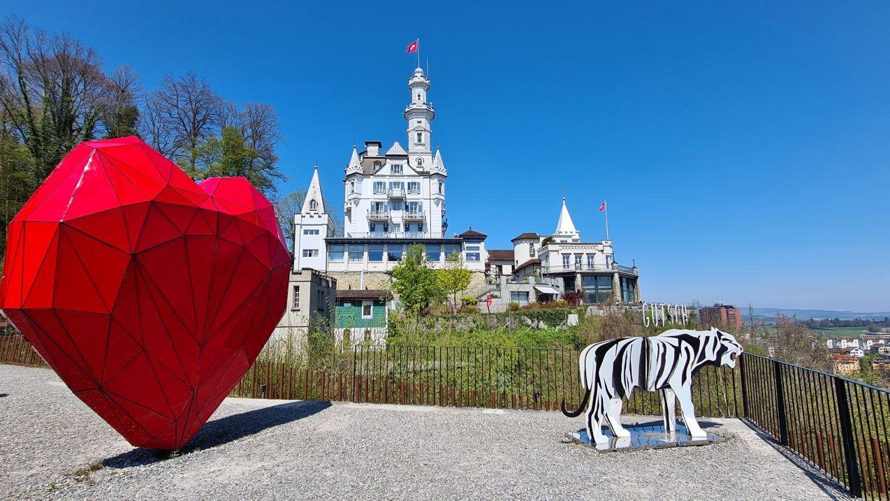Luzern - Chateau Gütsch