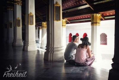 Pause im Phra Rabieng