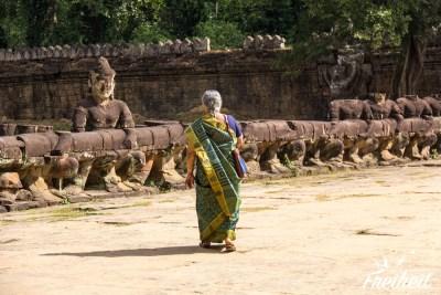 Auf dem Weg zum Preah Khan Tempel