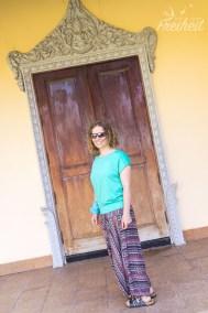 Und meine Alibaba Hose aus Siem Reap