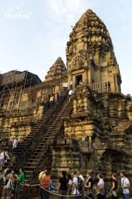 Angkor Wat - Aufstieg ins Innerste