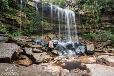 Stufe Zwei des Popkvil Wasserfalls schaut schon besser aus ;-)