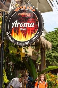 Aroma House, James neues zu Hause seit ein paar Jahren