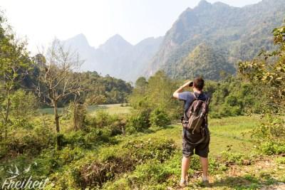 Umgebung von Nong Khiaw