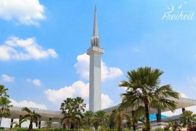 Minarett der Nationalmoschee
