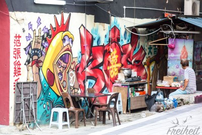 Street Art und Street Food