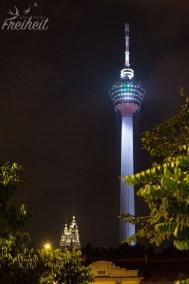 Fernsehturm und Petronas Towers