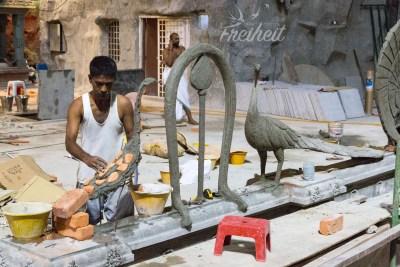 Batu Höhle - neue Figuren entstehen