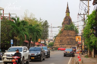 Alte Stupa in Vientiane