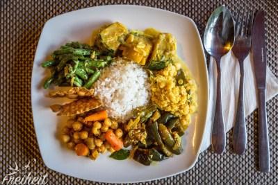 Unglaublich lecker das singhalesische Essen