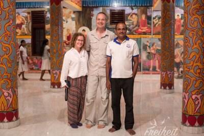 Unterwegs mit Sumith unserem Gastgeber