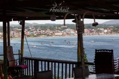 Trincomalee liegt direkt am Meer