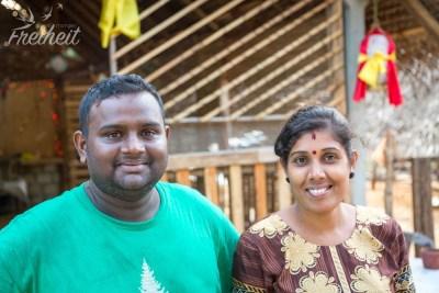 Die beiden Besitzer des Nina Restaurants