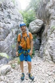 Die Klettersteigtour kann starten :)