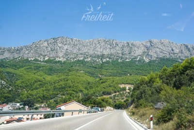 Das Biokovo Gebirge in Kroatien