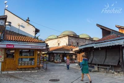 Baščaršija - historisches Zentrum