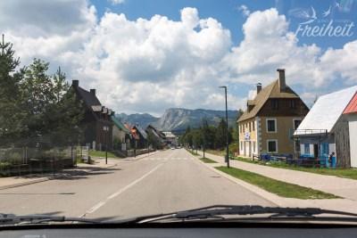 Zurück im Skiort Zabljak