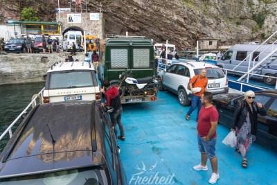 Auf dem Weg nach hinten, Parken für Fortgeschrittene