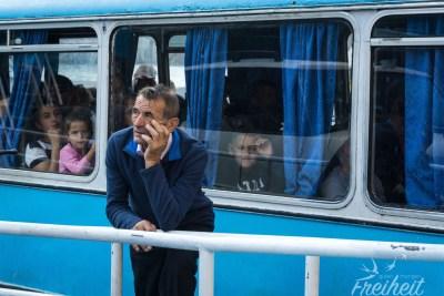 Der Bus-Boots-Kapitän ;-)