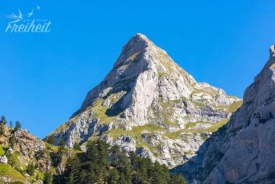 """Klein """"Matterhorn"""" Albaniens"""