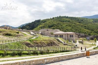 Die Festung von Prizren ist frei und kostenlos zugänglich