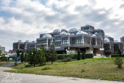 99 Kuppeln soll die Nationalbibliothek haben