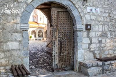 Eingangsportal zum Kloster