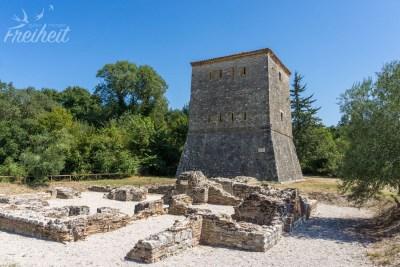 Noch ein venezianischer Turm - dieser ist aus dem 15. Jh.