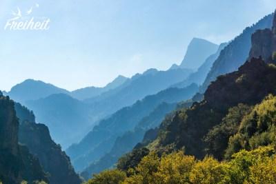 Spannende Bergkulisse