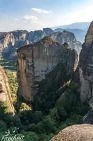 Kletterfreunde werden hier begeistert sein vom Angebot der Routen :)