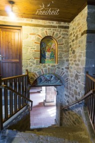Im Kloster Agía Triáda