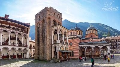 Der 1334 erbaute Chreljo-Turm