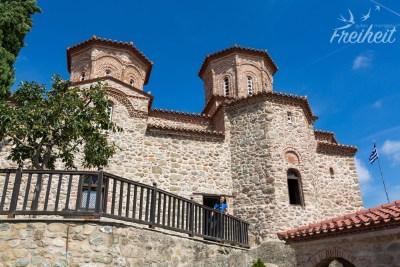 Die Doppelkreuzkuppelkirche des Klosters