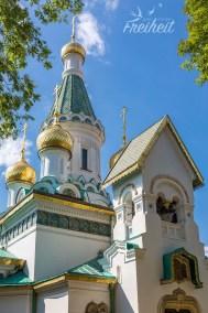 Die russisch-orthodoxe Kirche Sweti Nikolaj - errichtet für die russische Botschaft und die russischen Bewohner der Stadt