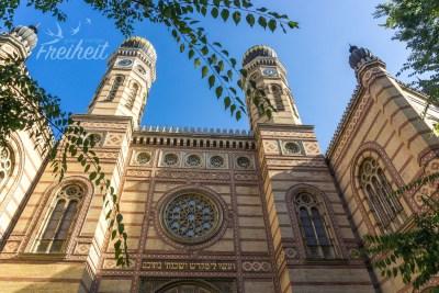 Die Große Synagoge von Budapest - zweitgrößte der Welt und größte von Europa