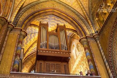 Die Orgel der Matthiaskirche