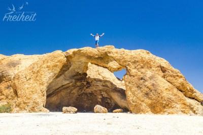 Rock Arch = natürlicher Felsbogen