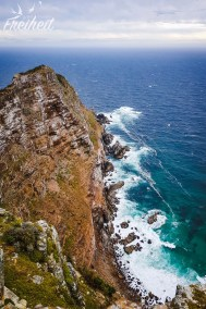 Das 250m hohe Cape Point